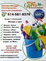 entretien menager commercial - general commercial cleaning