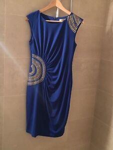 Smart/ Casual /Evening Dress Blue Size 8 Eltham Nillumbik Area Preview