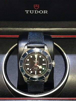 Tudor Black Bay Heritage 79220B Automatic 41mm Steel Mens Bracelet Watch