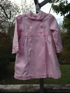 Pretty in Pink, size 2, Camilla girls dress coat