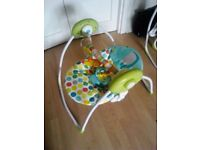 2 Chad Valley portable baby swings **CAN SELL SEPERATELY**