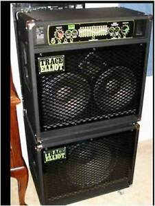 "Excellent: Trace Elliot 1210 Bass Combo Amp with 15"" Ext"