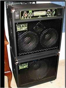 "Trace Elliot 1210 Bass Combo Amp with 15"" Extension Cabinet"