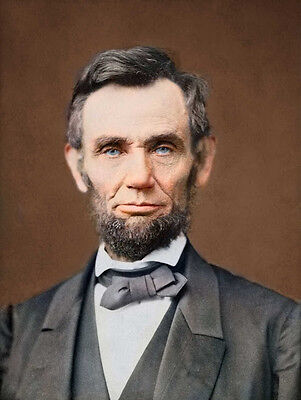 Portrait Of President Abraham Lincoln  1863