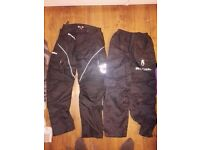 Oxford trousers(M) and richa waterproof(S)