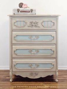 French Provincial Dresser/Tall Boy/Linen Storage