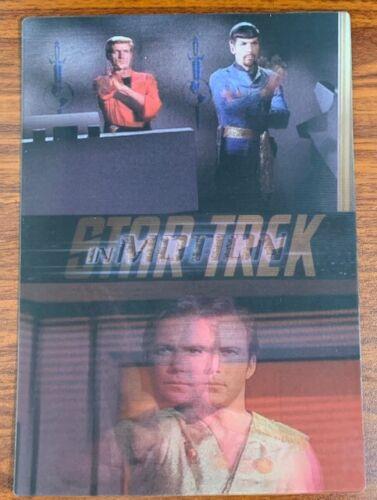 1999 Rittenhouse Star Trek Motion #13 Mirror,Mirror Free Shipping