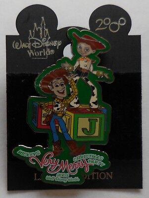 Disney Pin Mickey´S Very Merry Christmas '03 Woody und Jessie Parade Schwimmer ()