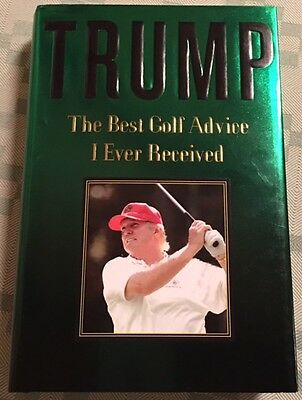 Best Golf Advice I Ever Received President Donald J. Trump Rare Campaign
