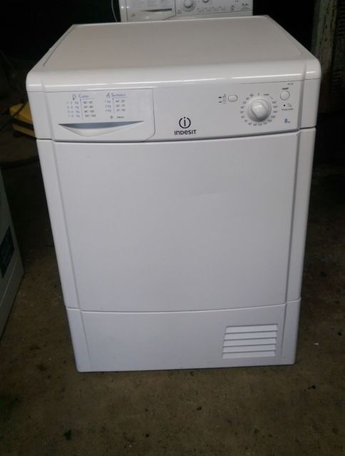 FREE DELIVERY, WARRANTY Large 8KG Indesit condenser tumble dryer