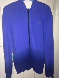 Lacoste navy blue hoodie (Kids- 10 yrs)