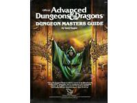 Ad&d Advanced Dungeons & Dragons books Wanted