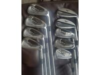 Mizuno MP 15 Forged irons. 4-PW And 51 + 57 Deg Gap Wedges.