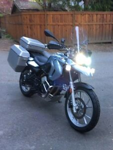 2009 BMW 650 GS - (Factory Lowered Twin)