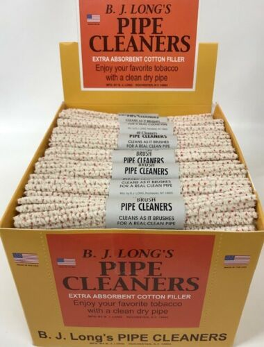 BJ Long - Bristled Pipe Cleaners - Extra Absorbent (48 bundles of 40)