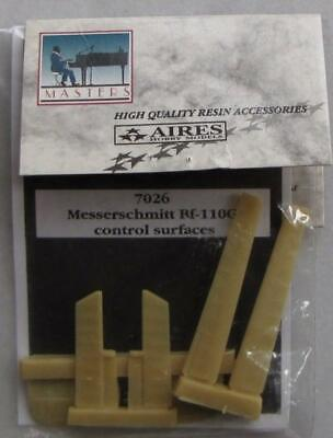 Aires 1/72 scale Messerschmitt Bf 110G control surfaces for Italeri 7026