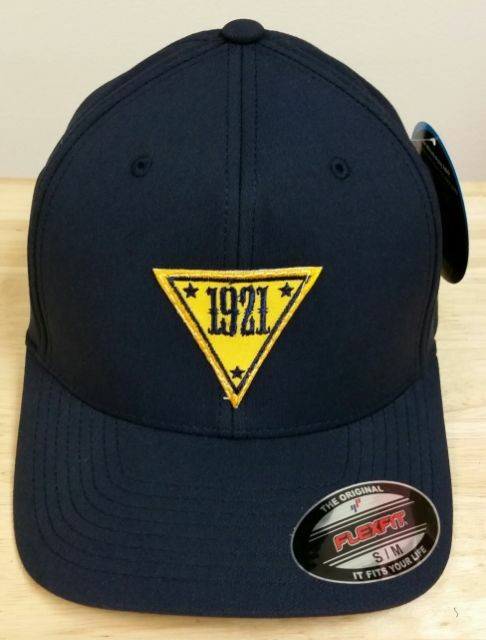 "NJSP New Jersey State Police S/M Navy FlexFit Hat/Cap w 2.25"" 1921 Patch Center"