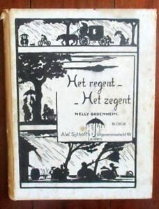 DUTCH songs  Vintage book  Het regent-Het zegent   Nelly