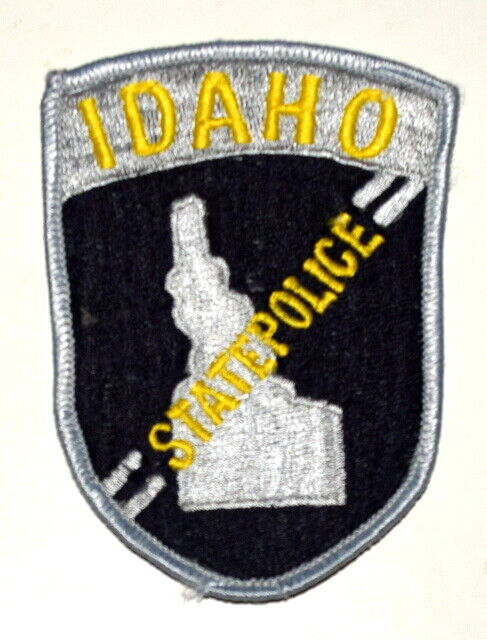 IDAHO STATE POLICE ID Sheriff Police Patch STATE SHAPE OUTLINE 4~