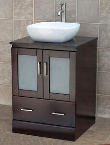 24 bathroom vanity cabinet black granite stone top glass 24 bathroom vanity with granite top