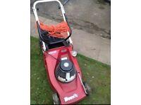 Mountfield electric lawn mower