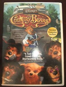 Disney's The Country Bears Movie on DVD