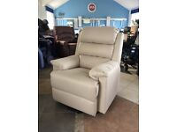 * Brand New Sale Item* Cream Riser Recliner, Rise Recline Armchair Chair Mobility Disability Aid