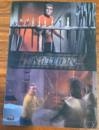 1999 Rittenhouse Star Trek Motion #24 The Day of the Dove Free Shipping