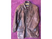 Bespoke Italian Leather Jacket