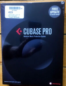 CUBASE 8.5 (Pro Version)–unopened and still in shrink wrap