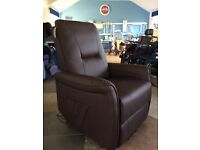 *Brand New Sale Item* Leather Riser Recliner, Rise Recline Armchair / Chair Mobility Disability Aid