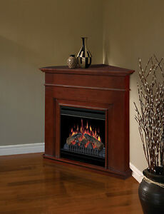 Dimplex Corner Fireplace with Remote