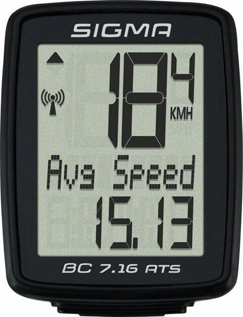 Sigma BC 7.16 ATS Wireless Cycling Computer