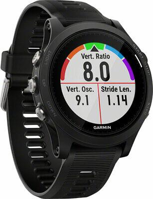 Garmin Forerunner 935 GPS Black Running Watch Triathlon Watch w Wrist Heart Rate