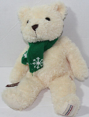Herrington Teddy Bears Cheesecake Factory W  Green Scarf Bean Filled Plush Toy