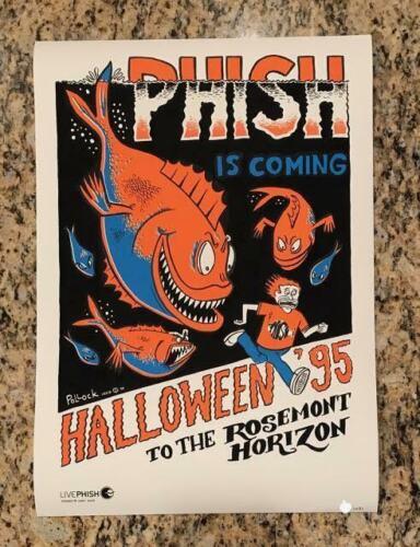 Phish Rosemont Horizon Halloween 1995 Poster By Jim Pollock #ed 2nd Edition Rare