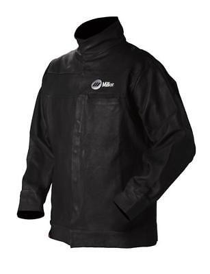 Miller 231092 30 Leather Welding Jacket Size 54 Xx- Lg