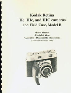 Kodak-Retina-IIc-IIIc-IIIC-Parts-Manual-with-Exploded-Views