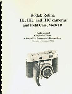 Kodak-Retina-IIc-IIIc-IIIC-Parts-Manual-with-Exploded-Views