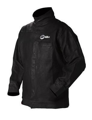 Miller Arc Armor Premium Leather Jacket - Large Size - New 231090