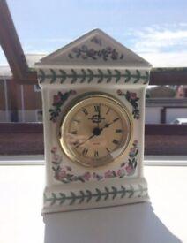 Portmeirion Botanic Garden Desk Clock