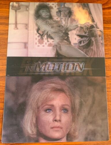 1999 Rittenhouse Star Trek The Original Series Motion #1 The Cage Free Shipping