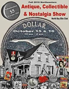 Northeastern Antiques& Collectibles Show October 2016