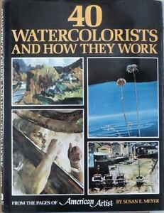 5 ASSORTED WATERCOLOUR PAINTING BOOKS