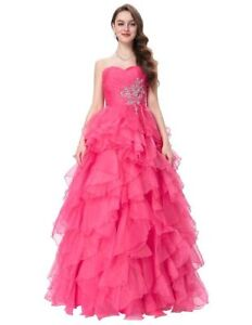 Special Occasion Dress, Pink Ballgown, Size 2
