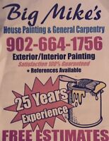 House painting and General Carpentry