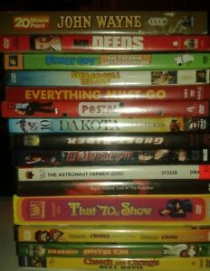 best offer some DVDS singles and box sets for sale