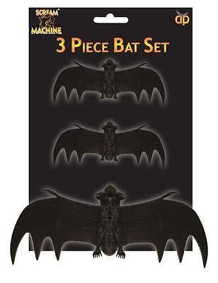 Decorate Halloween Party Cheap (3 x CHEAP Halloween Bats Party Favours, prizes, loot fillers Party)