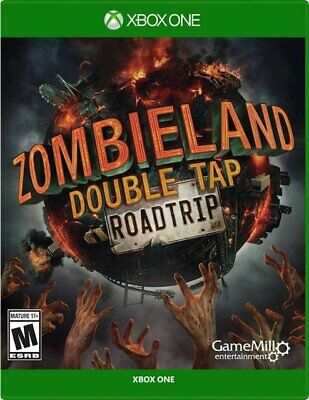 XBOX ONE - ZOMBIELAND DOUBLE TAP ROADTRIP - BRAND NEW - FREE 1ST CLASS SHIPPING