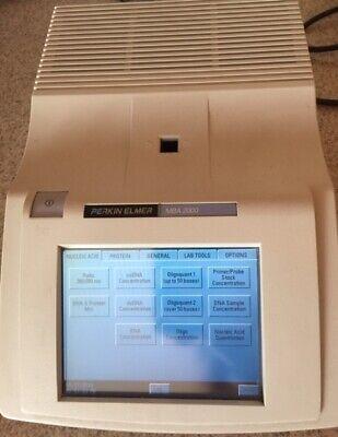 Perkin Elmer Mba 2000 Spectrophotometer Uvvis Reader Biophotometer Diode Array